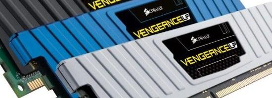 Corsair Vengeance DDR3 cu profil redus