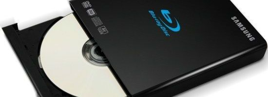 BD-RW extern de la Samsung