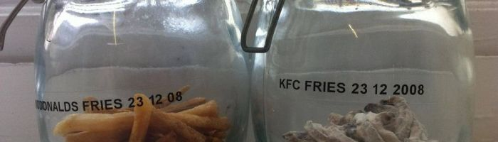 Cartofii de la McD's si KFC dupa 3 ani