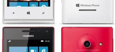 Huawei Ascend W1 cu Windows Phone 8