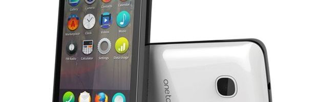 MWC 2013: Alcatel One Touch Fire, telefon cu Firefox OS
