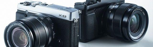 Fujifilm E-X2 si QX1 au fost anuntate