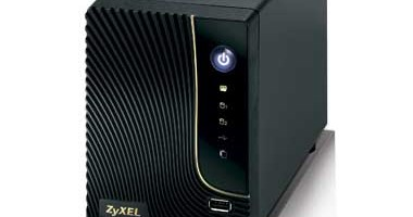 ZyXEL NSA320 NAS: scurt review