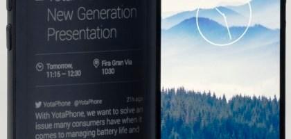 MWC 2014: YotaPhone, telefon dual screen