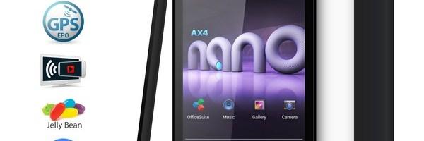 Review tableta Allview AX4 Nano
