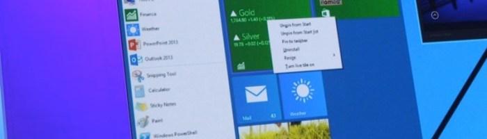Build 2014: Meniul de start vine inapoi (update)