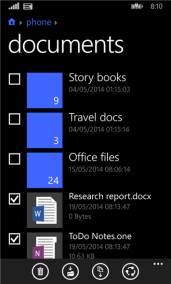 Windows Phone 8.1 Files (Manager) - 3