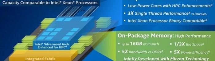 Intel vorbeste despre Knights Landing