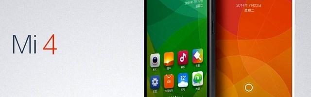 Xiaomi Mi4 si Mi Band: un smartphone puternic si o bratara