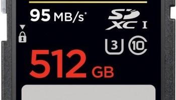 SanDisk are cel mai incapator card SD