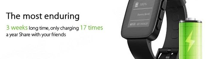 Weloop Tommy un smartwatch cu autonomie mare
