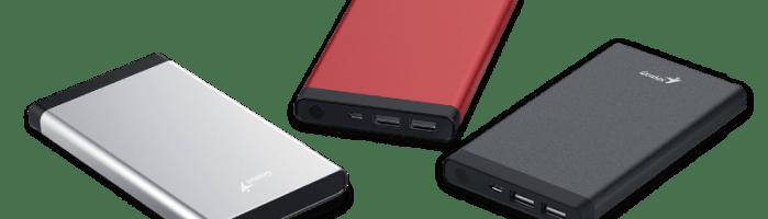 Genius a lansat o noua serie de baterii portabile