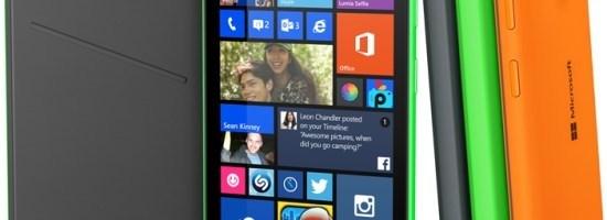 Microsoft lanseaza Lumia 535