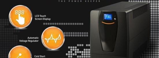nJoy a lansat noua serie de UPS-uri cu ecran tactil