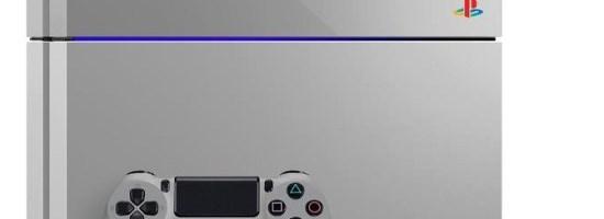 PS4 in editie limitata aniversara