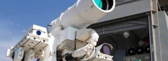 Laserul marin este operational