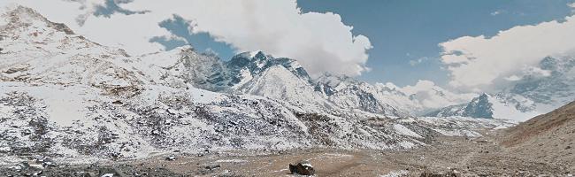 Google introduce zona muntelui Everest in Street View