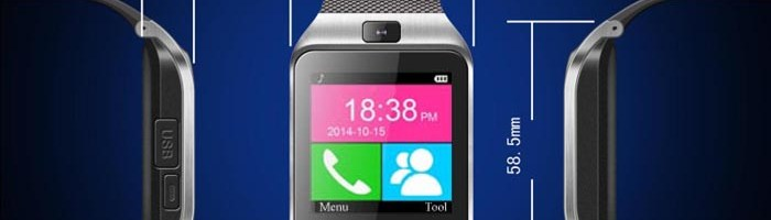 Smartwatch GV18 Aplus-ceas cu NFC, camera foto si sleep monitor