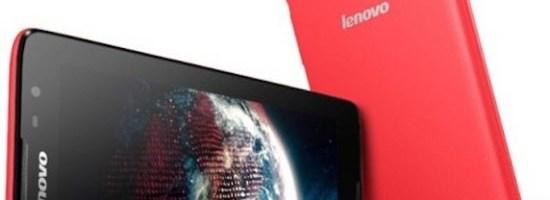 Lenovo A6000 Plus-phablet accesibil