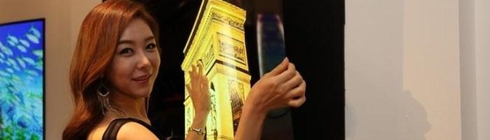 LG prezinta un ecran de 55 inchi cu o grosime sub 1 mm