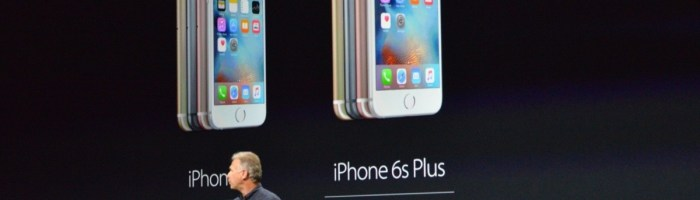 Apple a lansat iPhone 6S si 6S Plus, si tableta iPad Pro