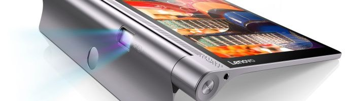 IFA 2015 -  Lenovo prezinta noi tablete Yoga cu proiector integrat