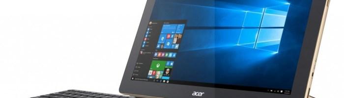 Noi produse Acer cu Windows 10