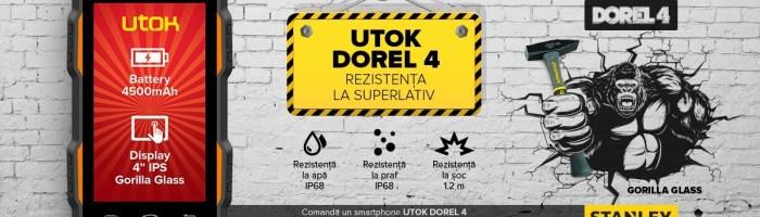 UTOK Dorel 4: inca un smartphone rezistent