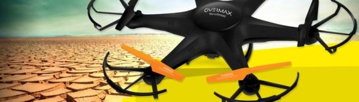 Overmax a lansat o noua drona si o noua camera de actiune