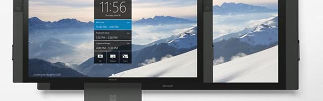 Microsoft Surface Hub se scumpeste si se amana