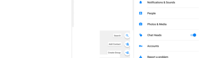 Facebook Messenger trece pe Material Design