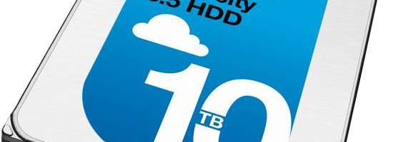 HDD-ul Seagate de 10 TB ajunge pe piata