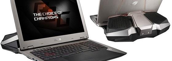 Asus a lansat GX700, primul laptop racit cu apa