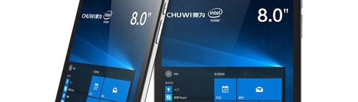 Chuwi Vi8 Plus-tableta cu Windows 10 sub 100 de dolari