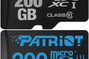 Patriot are microSD-uri de 200 GB