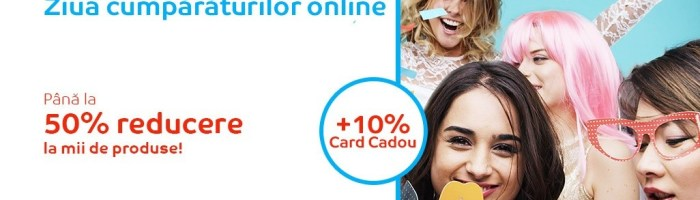 Ziua cumparaturilor online la eMAG