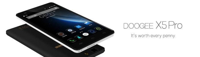 DOOGEE X5 Pro are 2 GB RAM si costa doar 69 de dolari