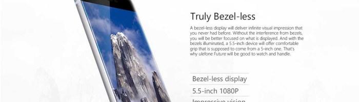 Ulefone Future - smartphone performant si aratos la un pret bun