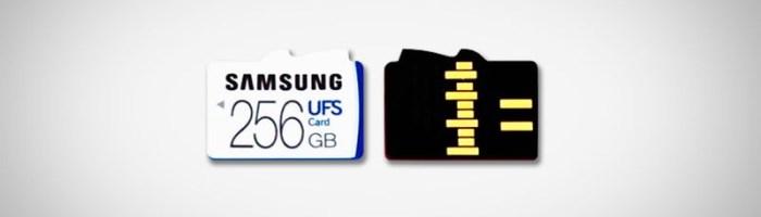 Samsung lanseaza primele carduri UFS, succesoarele microSD-urilor