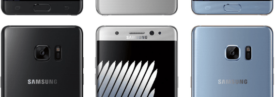 Samsung Galaxy Note 7 – prima imagine de presa