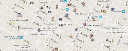 Cum gasesti toti pokemonii din oras in Pokemon Go? Acum ai harta!
