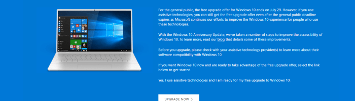 Windows 10: cum mai poti face upgrade gratuit