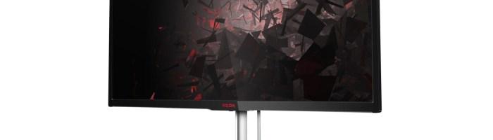 AOC anunta AGON AG352QCX, monitor de gaming curbat cu diagonala de 35 inch