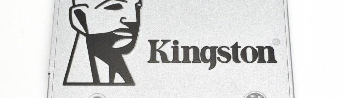 Review SSD Kingston UV400 480GB