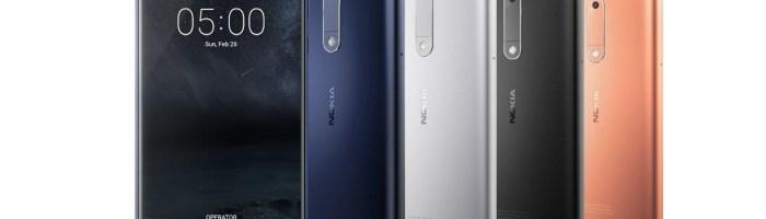 Nokia 3 si 5 lansate: pret, specificatii, disponibilitate (MWC 2017)