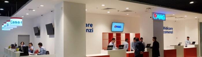 eMAG deschide un nou showroom in Bucuresti in cartierul Titan