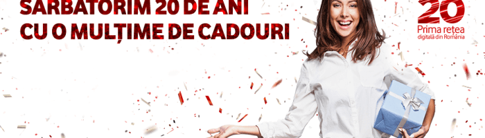 Vodafone: internet nelimitat de Paste, pana luni