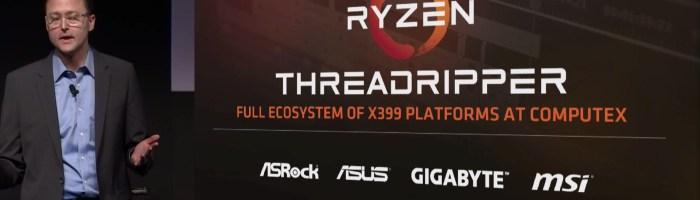 AMD prezintă platforma Ryzen Threadripper X399 - procesoare cu 16 nuclee, 64 lane-uri PCIe Gen 3 și suport pentru memorii Quad-Channel