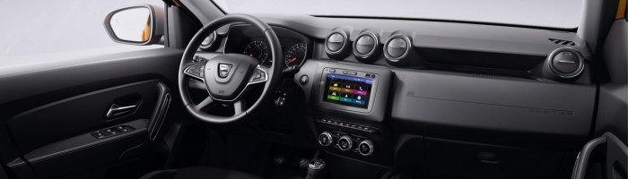 Dacia Duster 2018 – poze oficiale cu interiorul