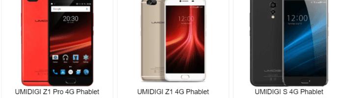 Reduceri de până la 100 dolari la smartphone-urile UMIDIGI (P)
